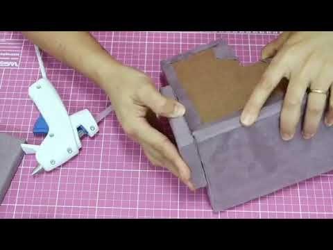 Fabriquer Un Canape Miniature Pour Barbie En Carton Tres Facile