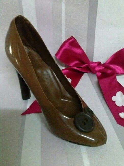 Zapatos En Chocolate Zapatos Chocolate Y Tartas