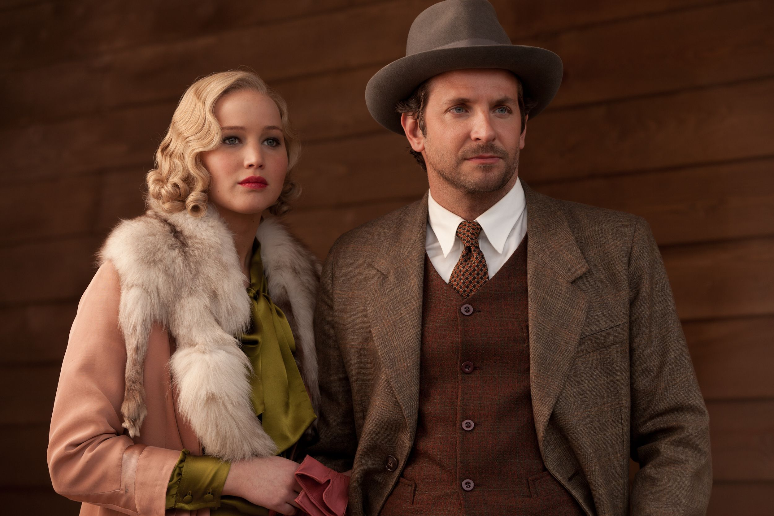First Image of Jennifer Lawrence and Bradley Cooper in