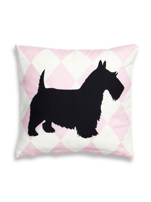 Scottish Terrier Pillow by Twinkle Living on Gilt Home