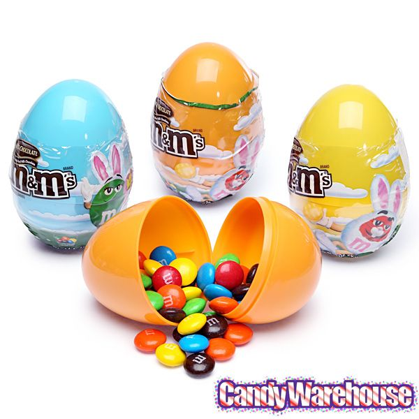 MMs Easter Candy Filled Plastic Eggs