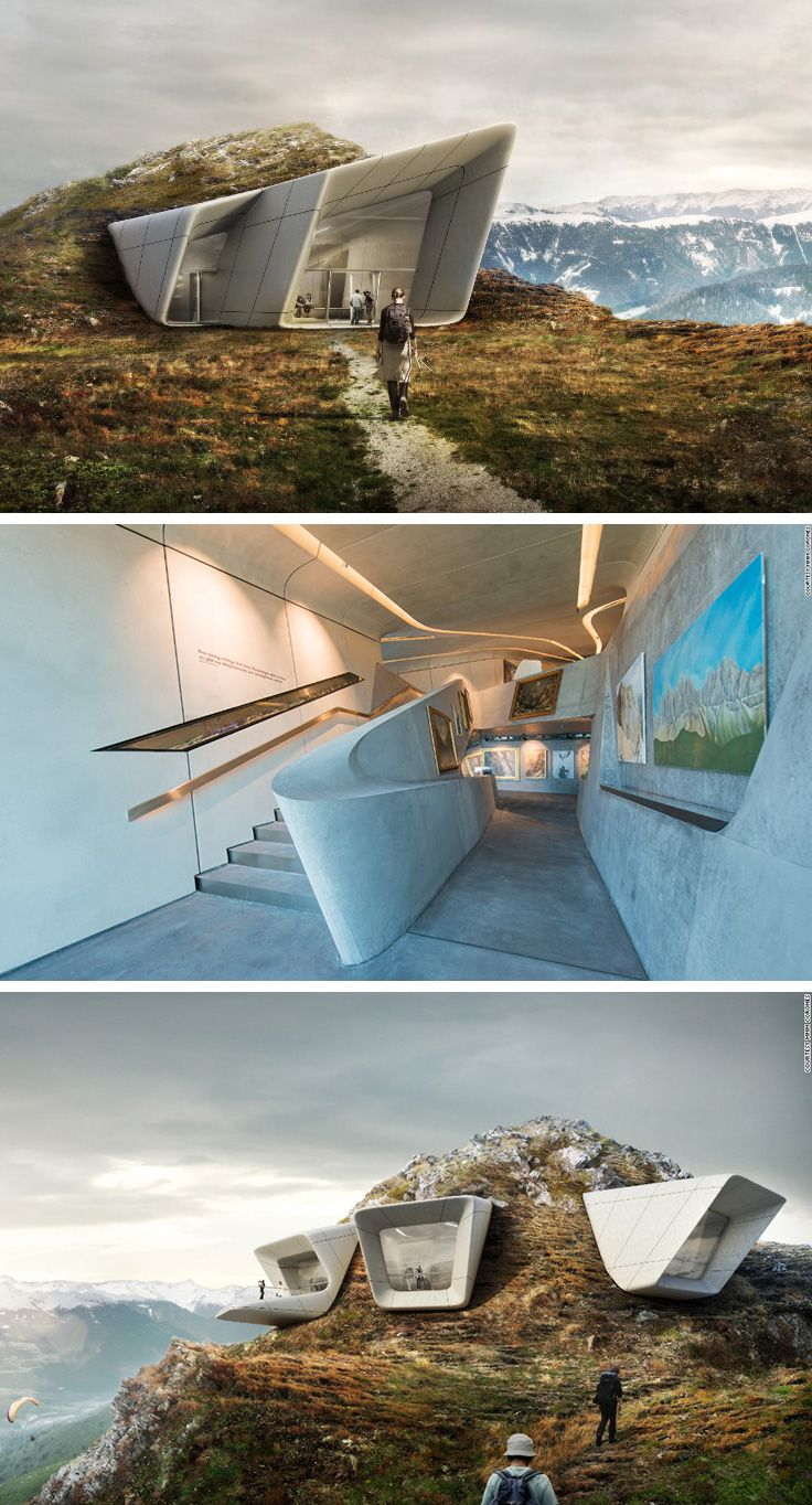 MMM Corones is a new museum about mountain culture that majestically sits atop Mount Kronplatz in South Tyrol, Italy.