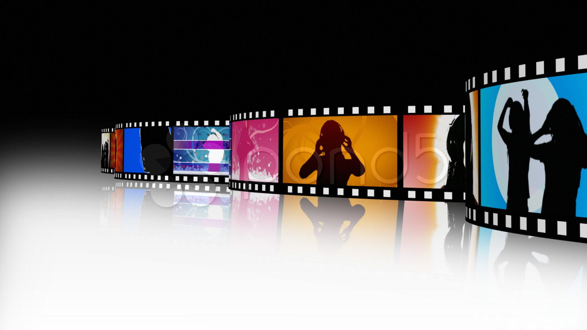 Film strip animation Motion Background VideoBlocks