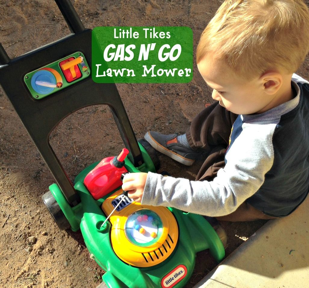 Little Tikes Gas N Go Lawn Mower Cool Toys For Boys