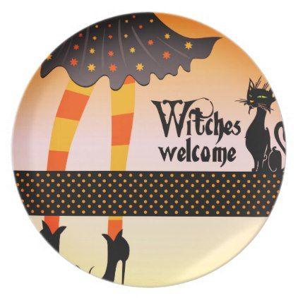 Halloween Plastic Plate  sc 1 st  Pinterest & Halloween Plastic Plate   Plastic plates