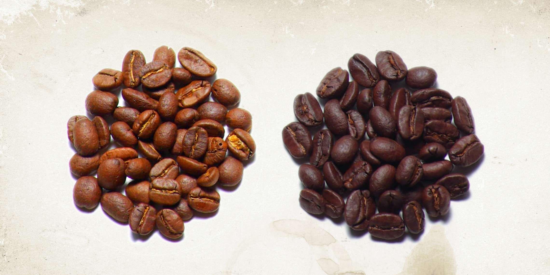 Caffeine Myths Dark Vs Light Roast Which Has More Coffee