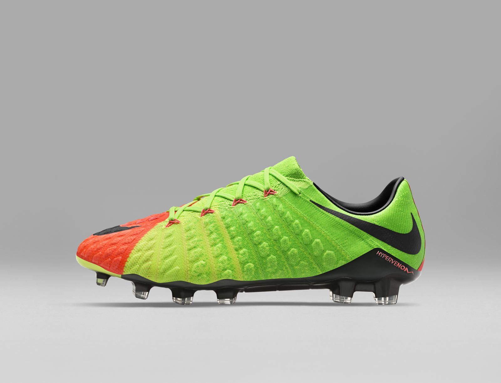 new arrival c6d51 04868 From sketch to scoring machine, Nike unveils the new Hypervenom 3. The boot  will be available January 30 on Nike.com in the Poison Green Hyper Orange  ...
