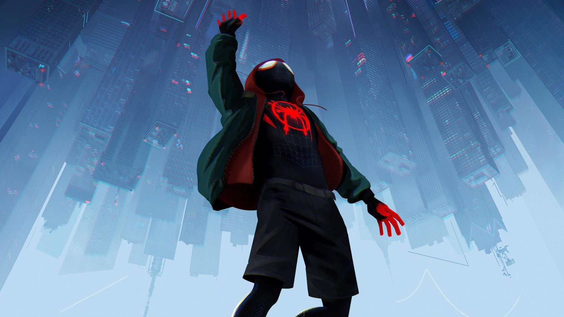 SpiderMan Into the SpiderVerse, Animated series, HD, 4K