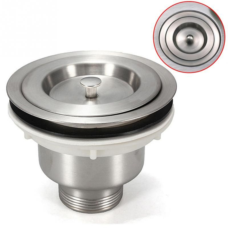 1Pc 35mm drain hole Stainless Steel Kitchen