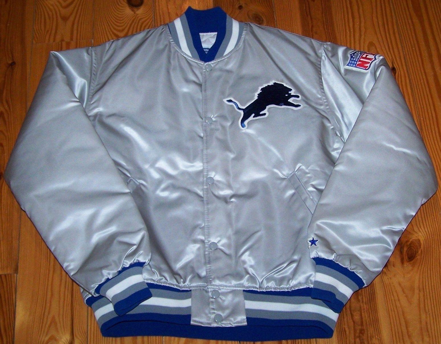 Vintage Detroit Lions Starter Jacket (early 90s)  2e7ffe86e