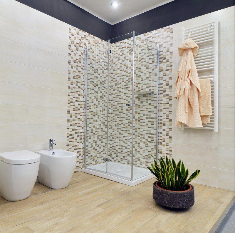 Doccia con mosaico cerca con google bagno pinterest bagno bagni e box doccia - Arredo bagno mosaico ...