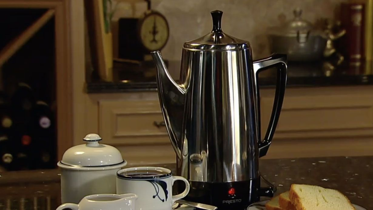 Best Coffee Percolators 2020 Reviews and Buyer's Guide