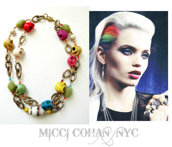 Chalina Chunky Double Stranded Multi by Micci Cohan InspiraMetroJewelry, $79.00
