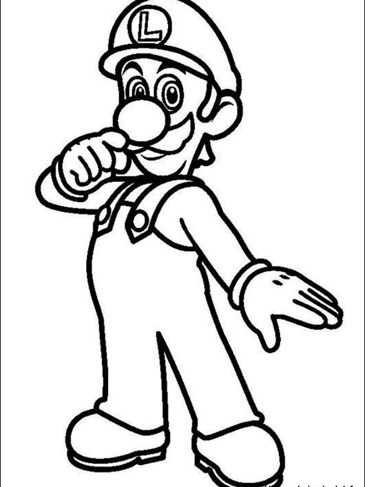Mario Coloring Pages Online Free Super Mario Coloring Pages Mario Coloring Pages Super Mario And Luigi