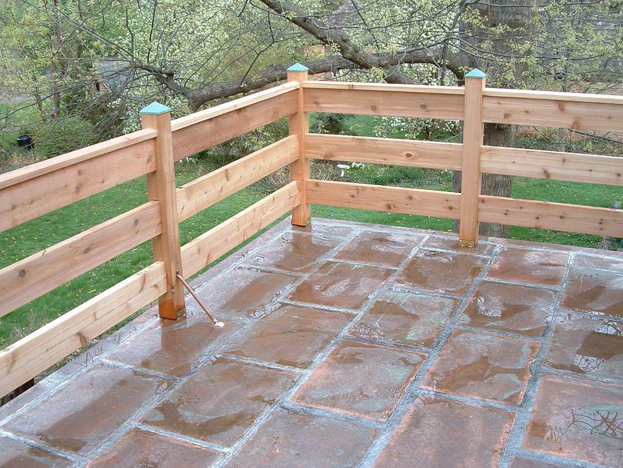 Horizontal Deck Railing Systems Deck railing design