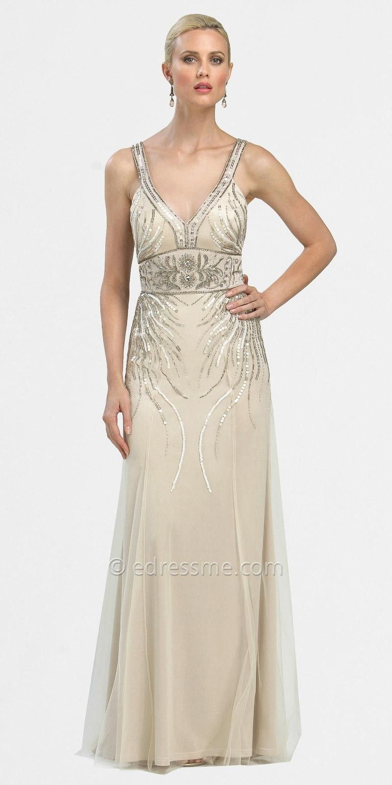 Art Deco Formal Gowns Dresses By Sue Wong_1 | Wedding | Pinterest ...