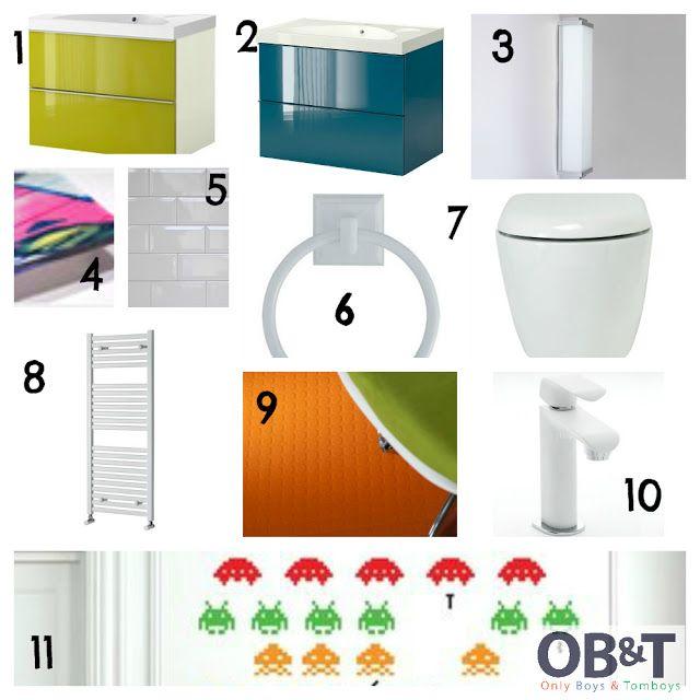 Ideas for a kids Jack n Jill bathroom checkout this blog ...