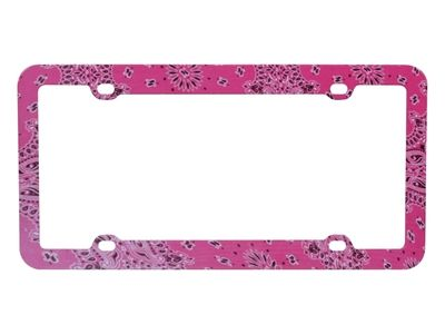love this license plate frame for my new car :)