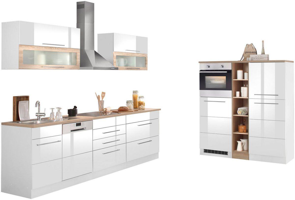 HELD MÖBEL Küchenzeile »Wien«, mit EGeräten, Breite 440