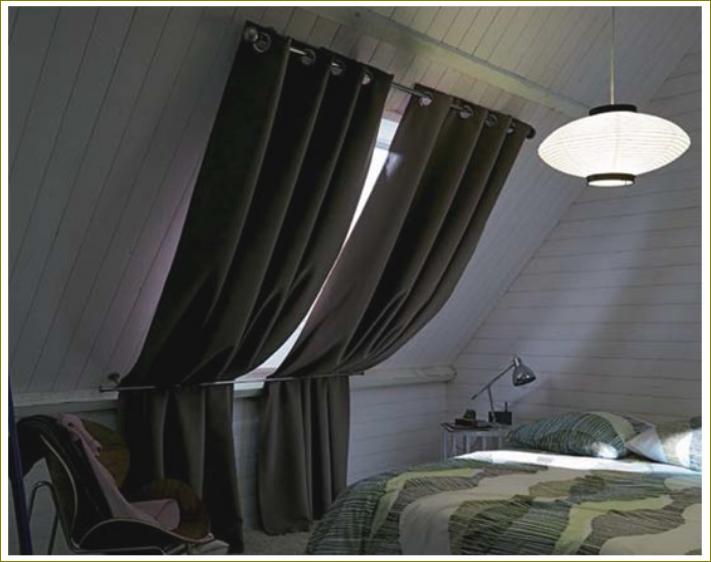 rideaux chambre rideau velux