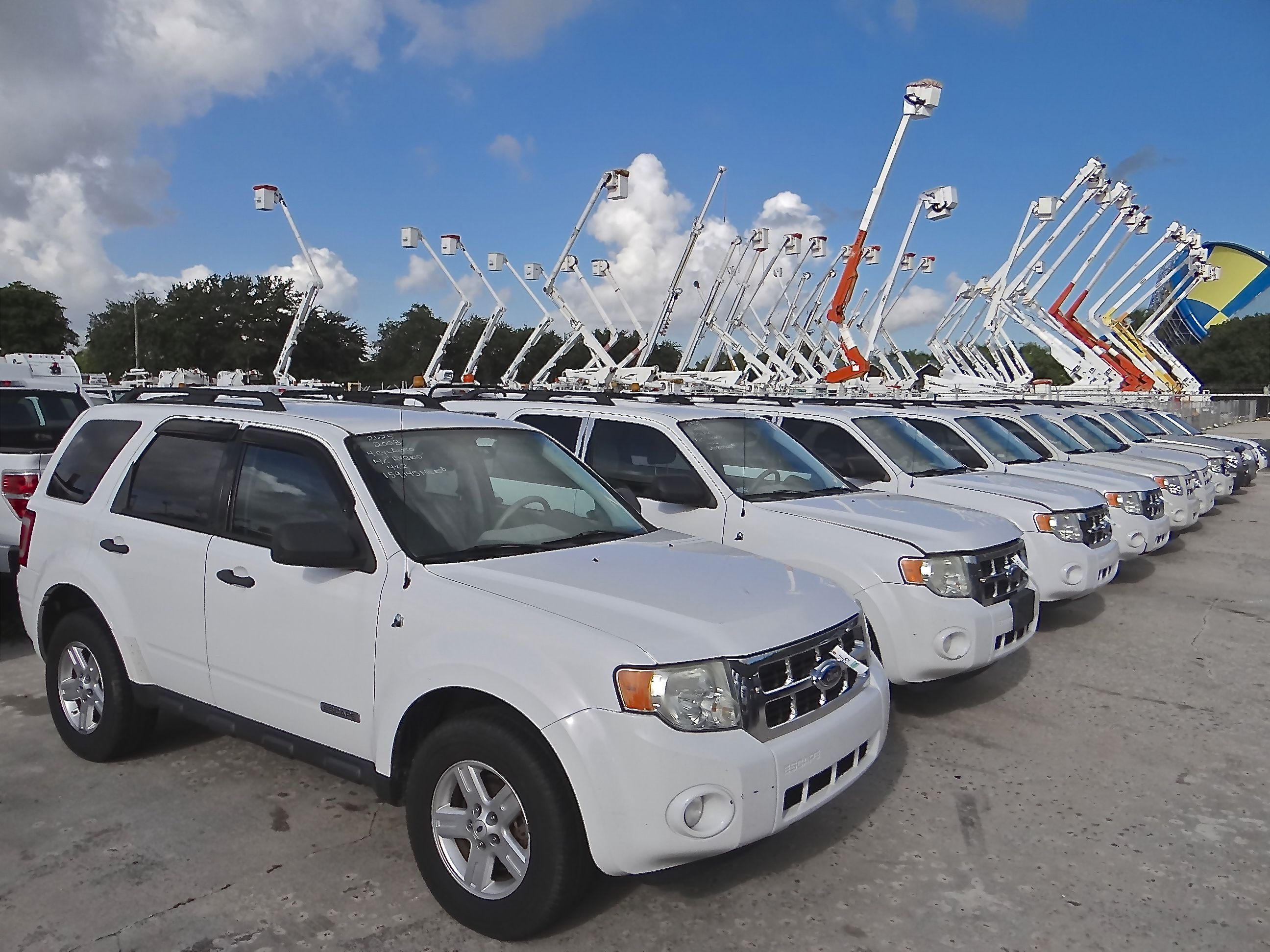 Sport Utility Vehicles (SUVs) Sell Regularly in the J.J