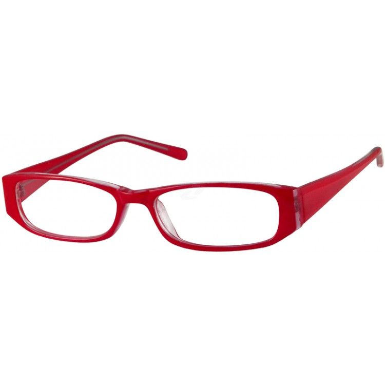 16a74ba16cd Red Rectangle Glasses  338628