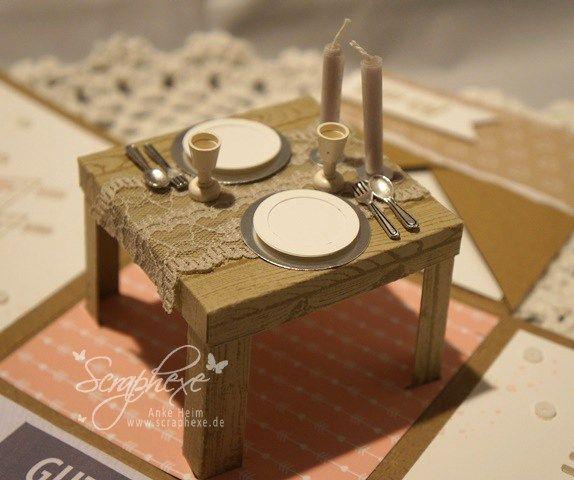 explosion box candle light dinner diy pinterest cajas tarjeta de cumple y. Black Bedroom Furniture Sets. Home Design Ideas