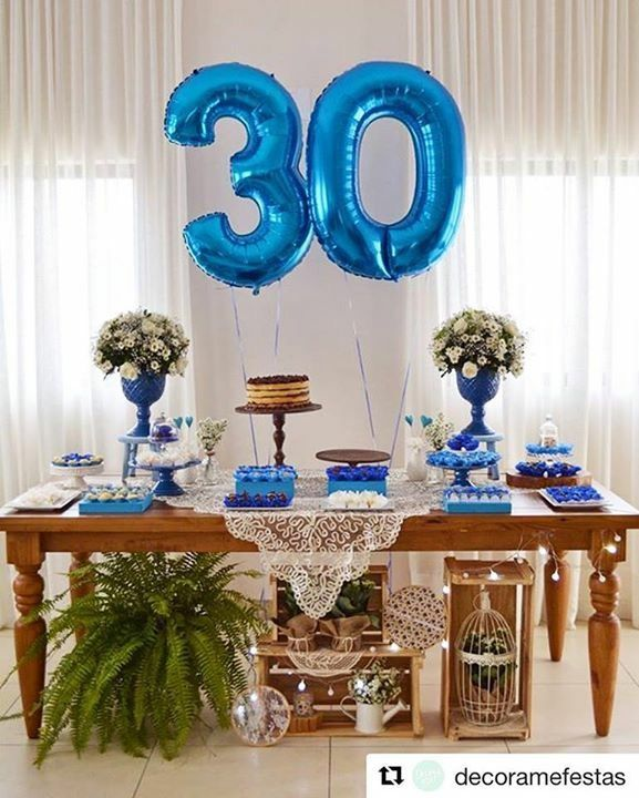 Opç u00e3o de decoraç u00e3o de mesa super fofo Inspirações de Decorações de casamento em 2019 Festas  -> Decoração De Mesa De Aniversario Para Homens