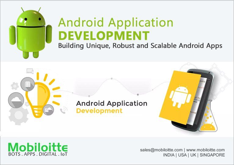 We strongly believe in developing #AndroidApps that give a great ...