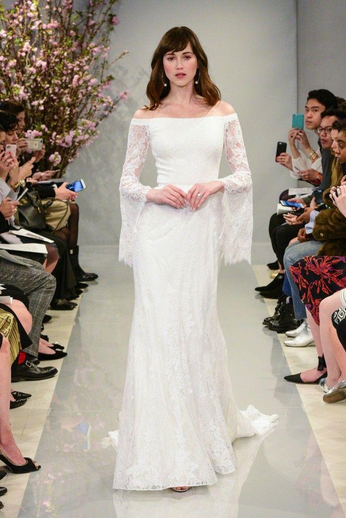 brautkleidmodelle moderne brautkleider 2018 | Hochzeitsideen | Pinterest