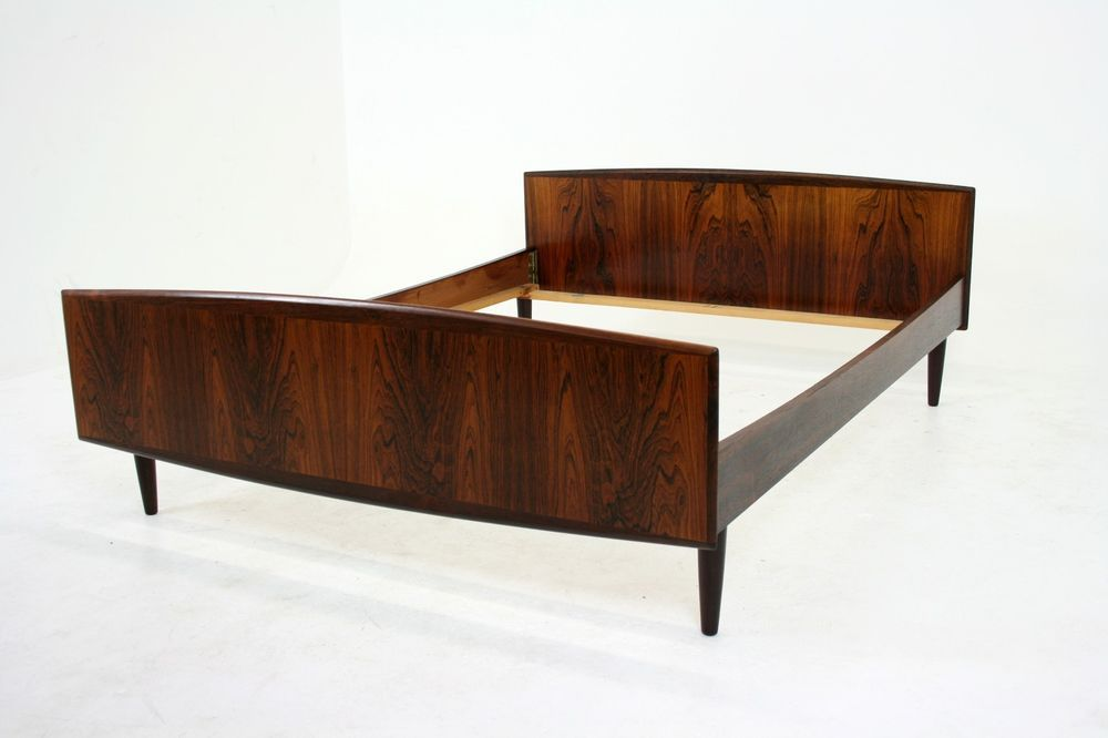 Best Danish Mid Century Modern Rosewood Double Full Size Bed 640 x 480