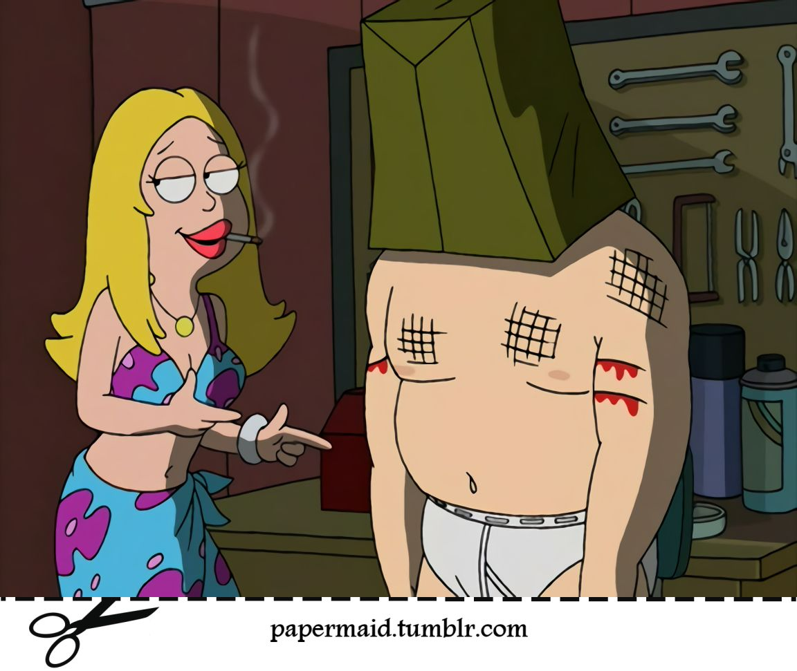 American Dad Paper Prop Homeland Insecurity Stan And Francine