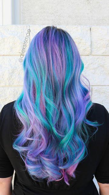 Mermaid Hairstyles Alexsis Mae  Ashleys Mermaid Hair Color Tranformation  About Hair