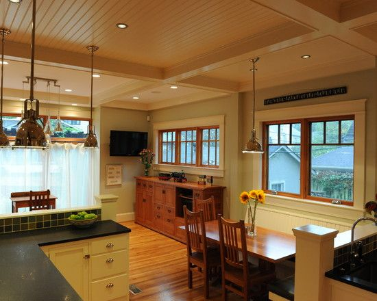 Craftsman Kitchen Design Inspiration 2Nd View Of Craftsman Kitchen Design  Bungalows  Pinterest Design Inspiration