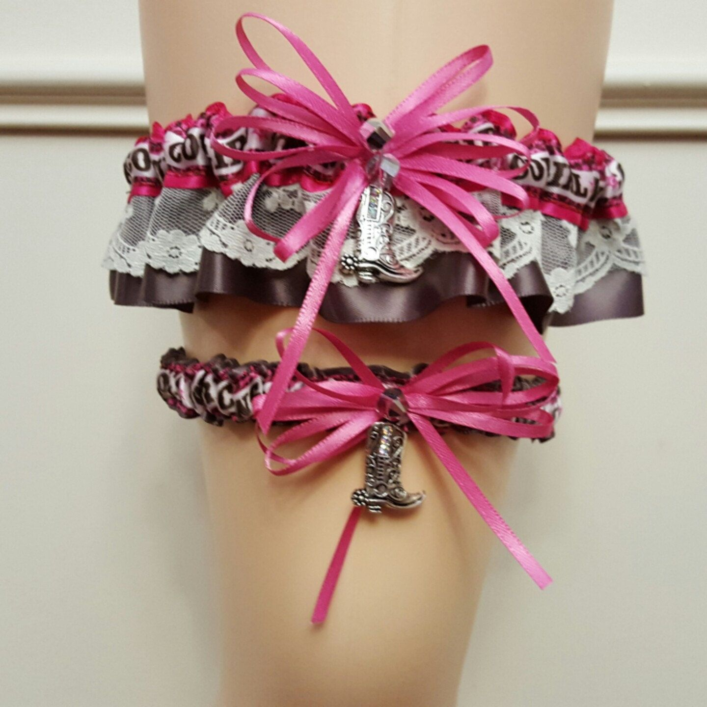 Country Wedding Garters: New Version Of The Country Western Cowgirl Wedding Garter
