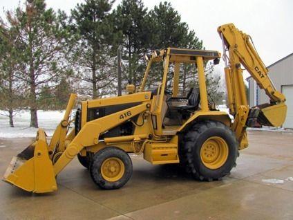 62hp Caterpillar 416 | Caterpillar | Backhoe loader