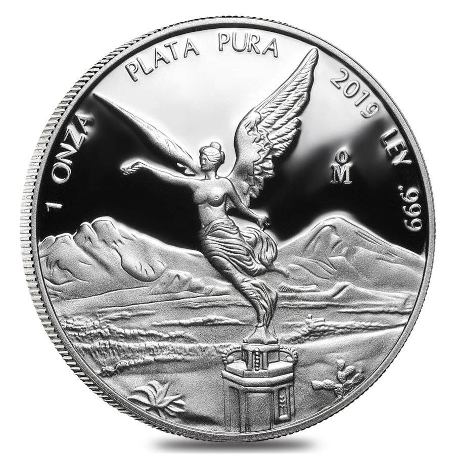 2019 1 Oz Silver Libertad Coin Proof Coins Silver Bullion Coins Libertad