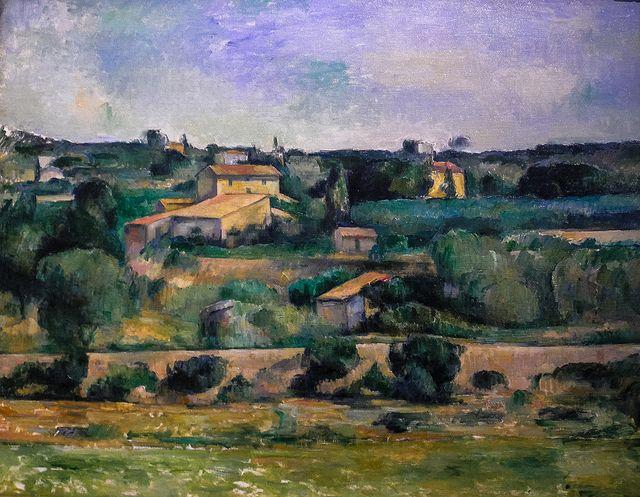 Paul Cezanne Landscape Near Aix En Provence 1879 At Wallraf Richartz Museum Cologne Germany Paul Cezanne Paul Cezanne Paintings Cezanne