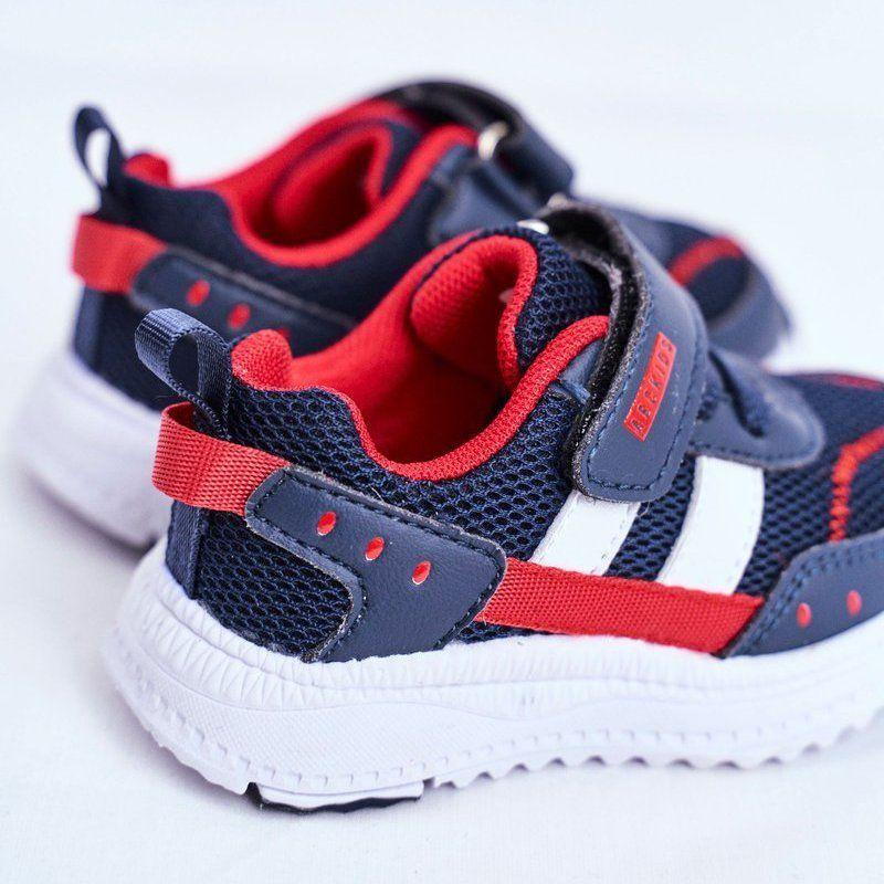 Sportowe Buty Dzieciece Granatowe Abckids B933104083 Saucony Sneaker Shoes Sneakers