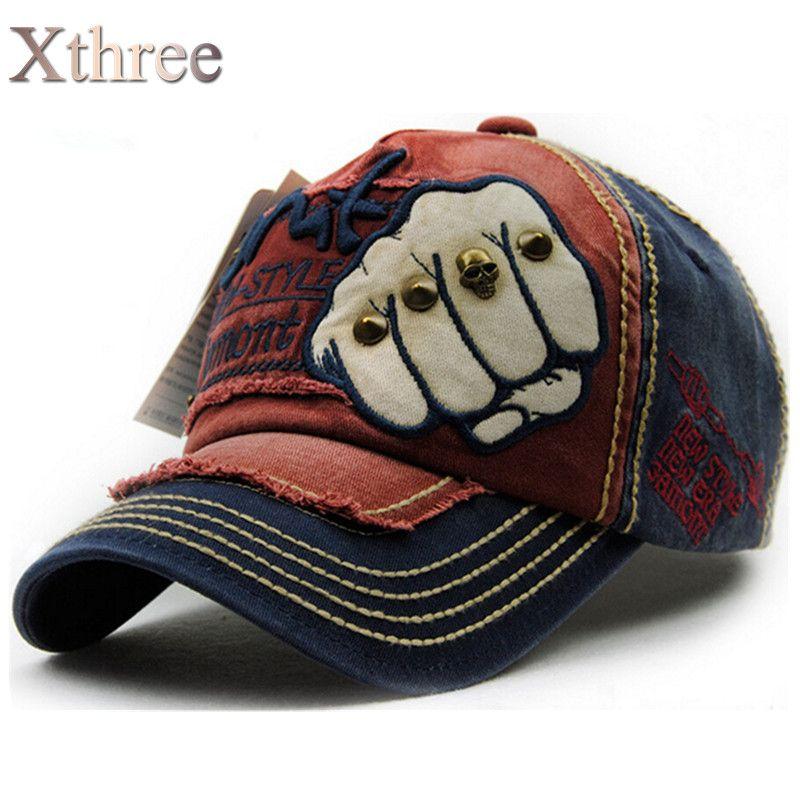 1XTHREE moda unisex hombres mujeres Gorra de Béisbol del snapback del sombrero gorras de Verano de Algodón Ocasional otoño Sombrero hombres cap wholesale