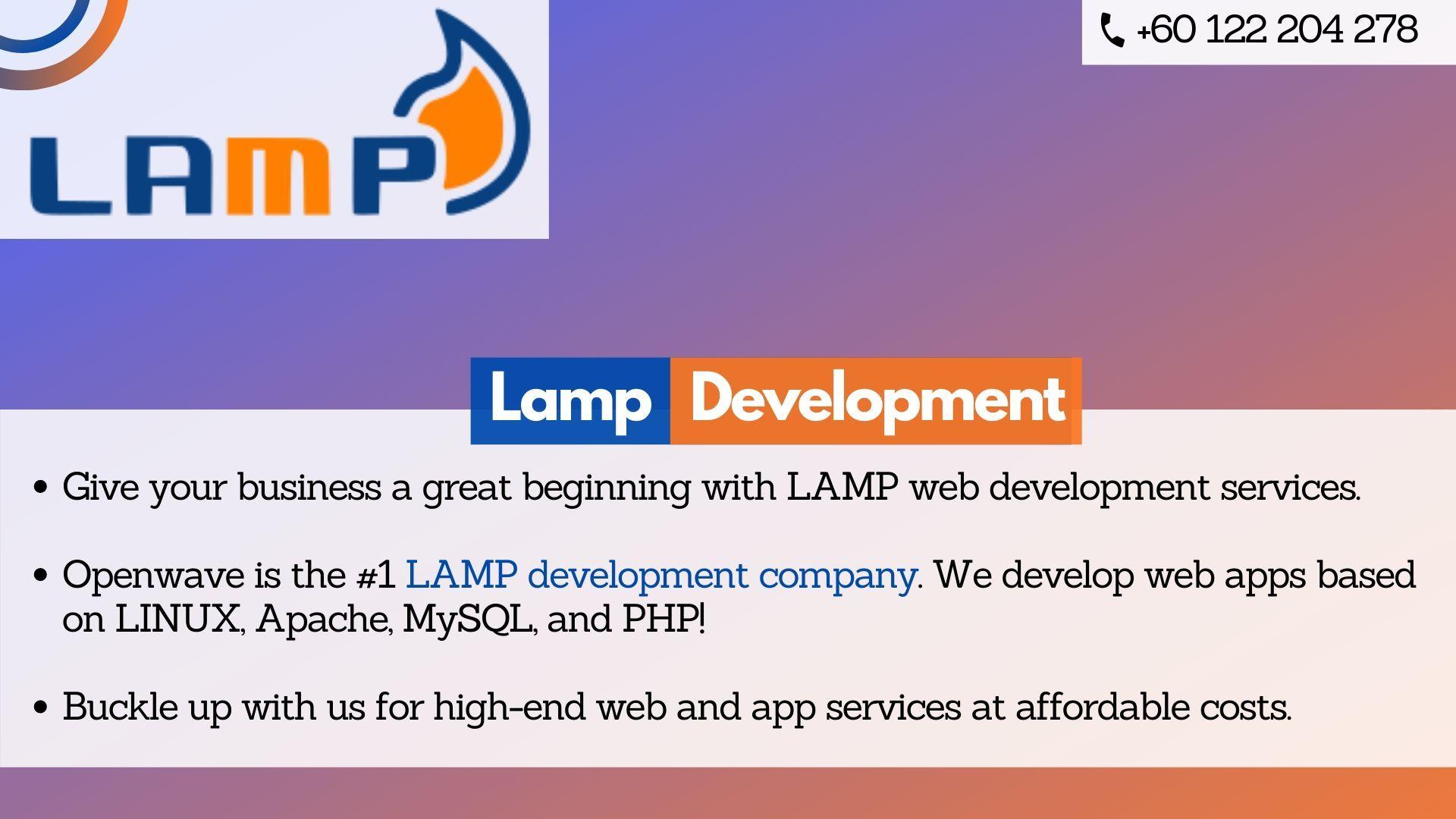 Lamp Development Company In Malaysia Php Developers In 2020 Website Development Company Website Development Development