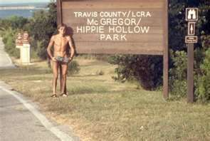 That hippie hollow austin texas girls nude