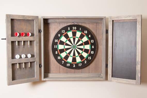 Diy Dartboard Cabinet Dart Board Cabinet Dartboard Cabinet Diy Dart Board