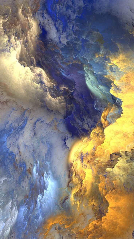 Breathtakingly Brilliant Light Art! Colourful wallpaper
