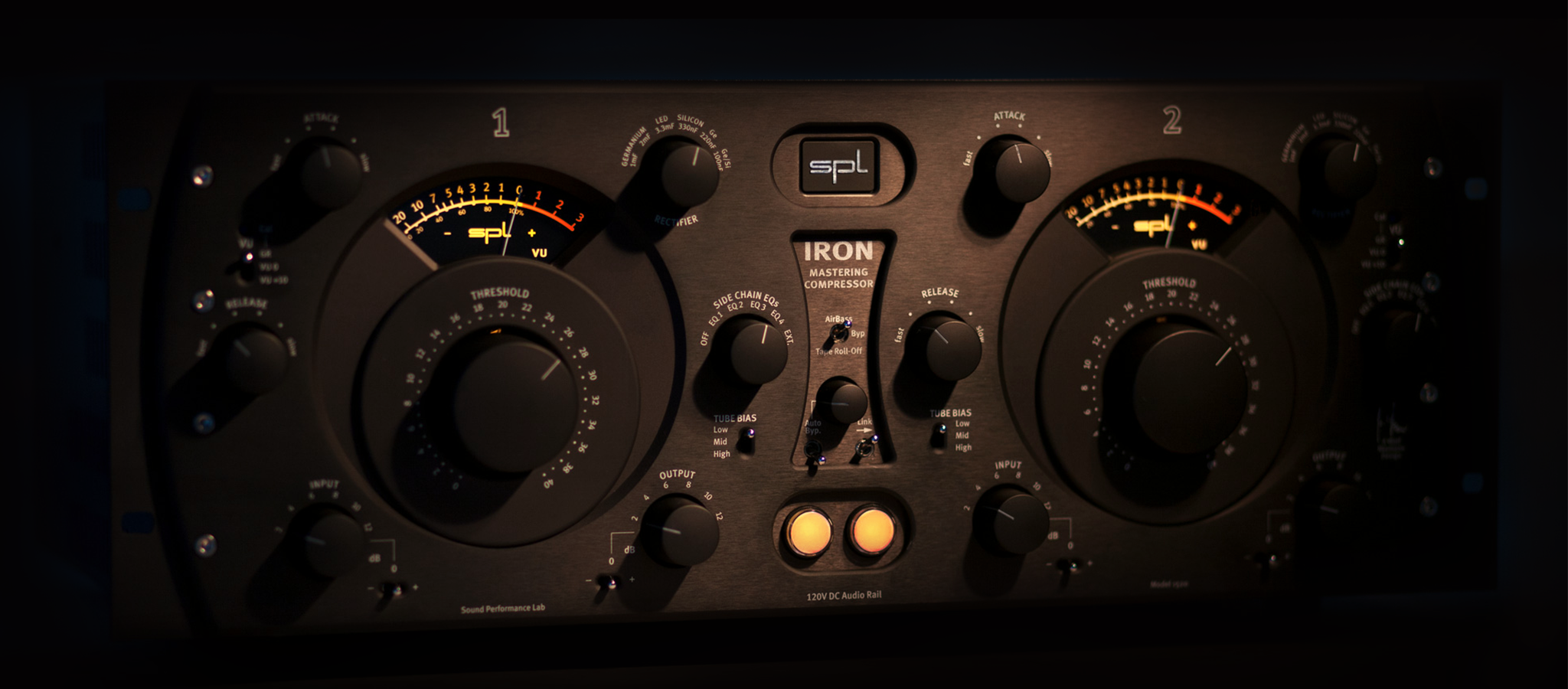 The IRON mastering compressor is not a copy of a classic