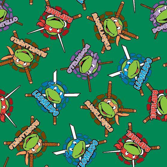 Bedroom Design Ideas For Kids Bedroom Colors Ideas Ninja Turtles Bedroom Decor Bedroom Wallpaper Teenage Girl: Nickelodeon Teenage Mutant Ninja Turtles Fleece Fabric