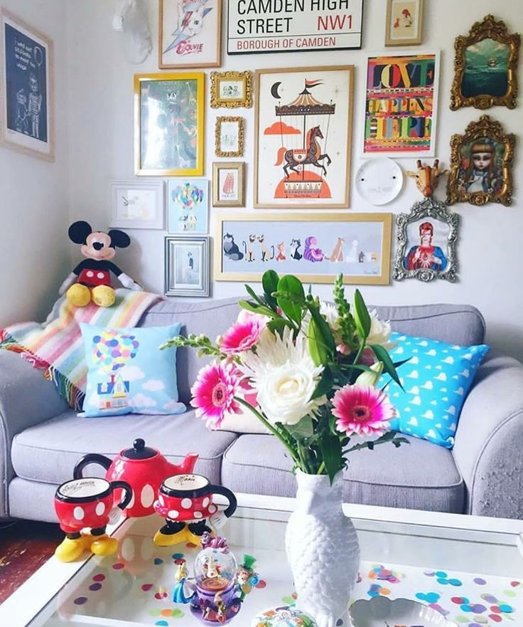 Disney Living Room Disney Home I Disney Decor I Disney Decorating I Walt Disney World Disney Room Decor Disney Rooms Disney Home Decor