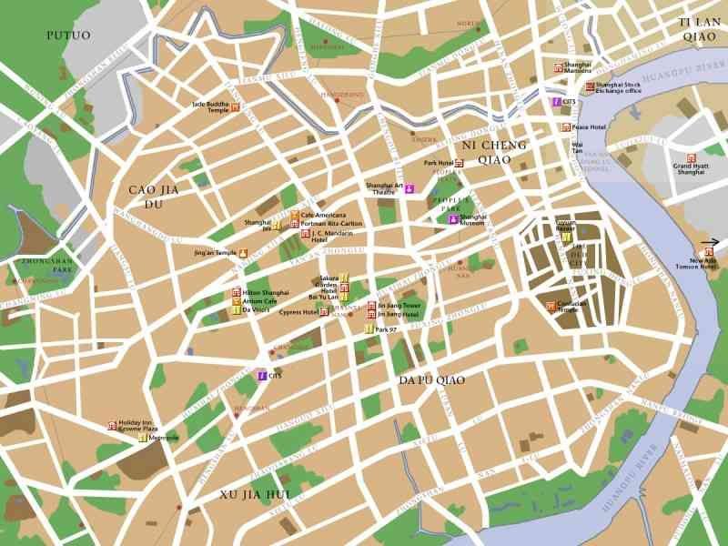 awesome Map Shanghai City awesome Map Shanghai