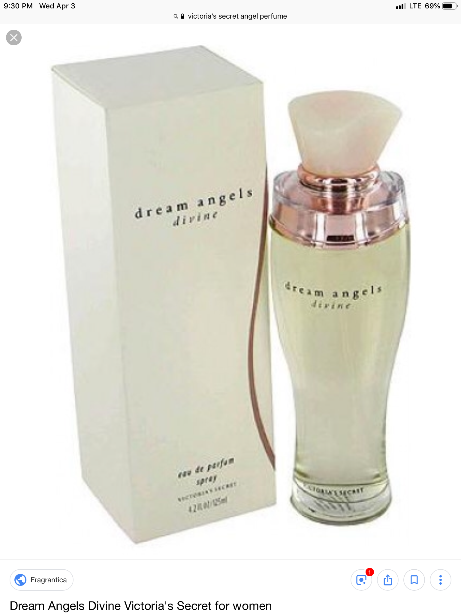 Victoria's Secret Dream Angel Kiss Eau