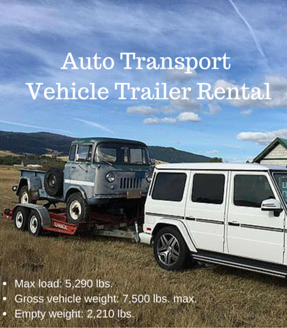 There Are Many Types Of Car Trailers For Rent However The U Haul Patented Auto Transport Tr Camping Equipment Rental Transport Trailer How To Clean Headlights